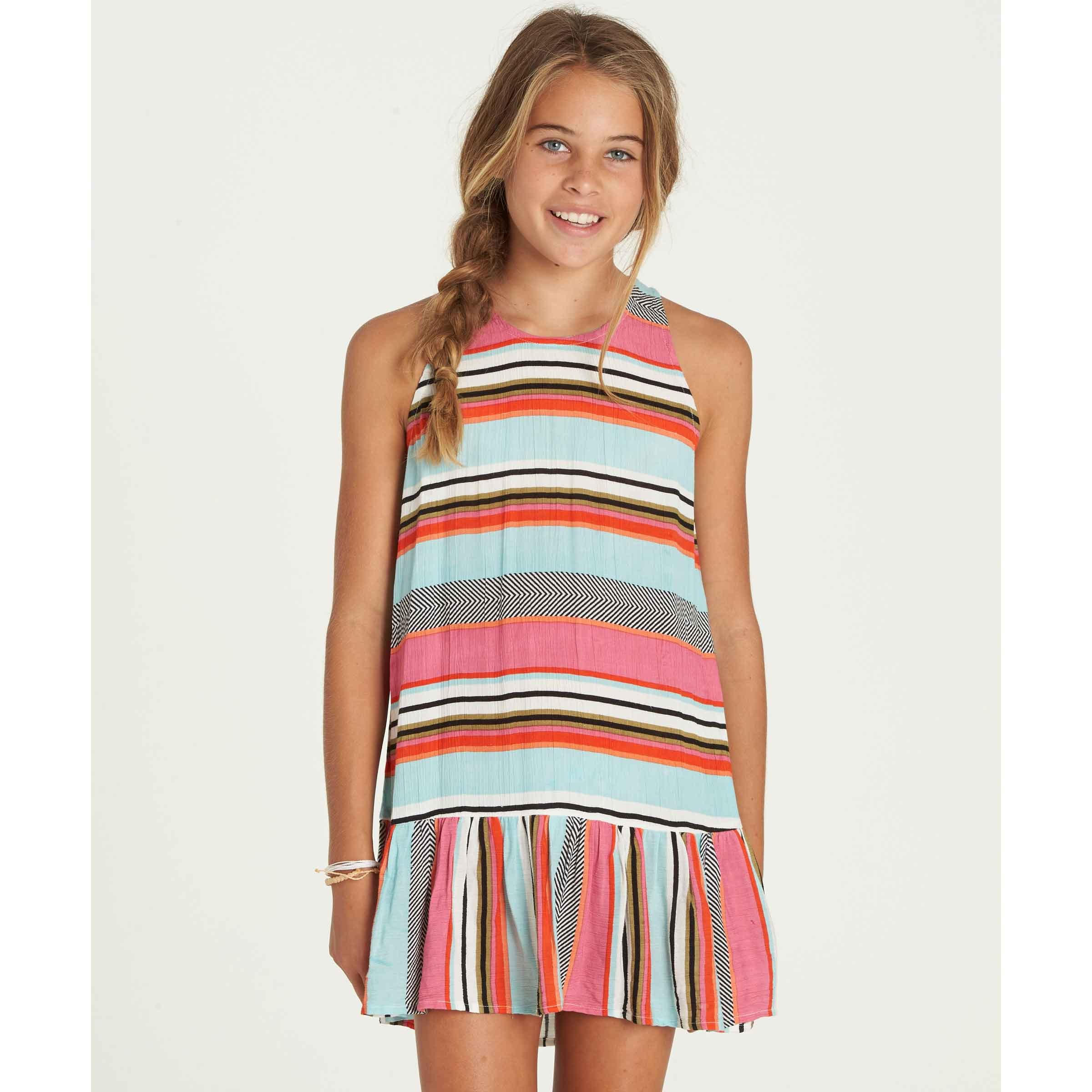 Billabong Girls' Girls' Universal Love Dress Beach Glass Medium