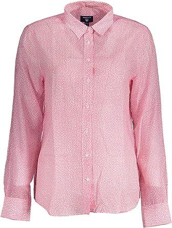 GANT Confetti Shirt Camisa, Rosa (Geranium Pink), 36 (Talla ...
