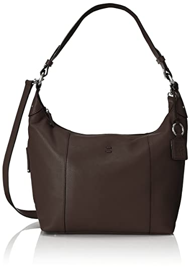 ellington Alex Hobo Cross Body Bag, Chocolate, One Size: Handbags ...