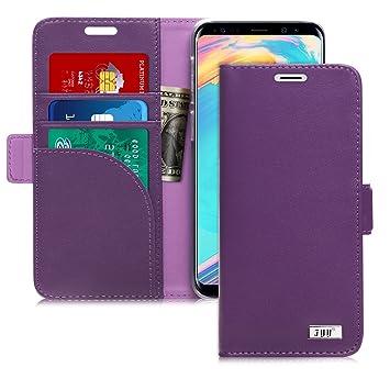 coque samsung s9 portefeuille violet