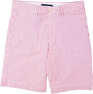 product image for Haspel Seersucker Shorts - Comus Red