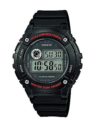 Casio Reloj de Pulsera W-216H-1AVEF: Amazon.es: Relojes