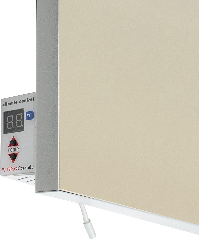 teploce ramic Thermostat digital chauffage infrarouge TCM de Ra 500/Beige 500/W
