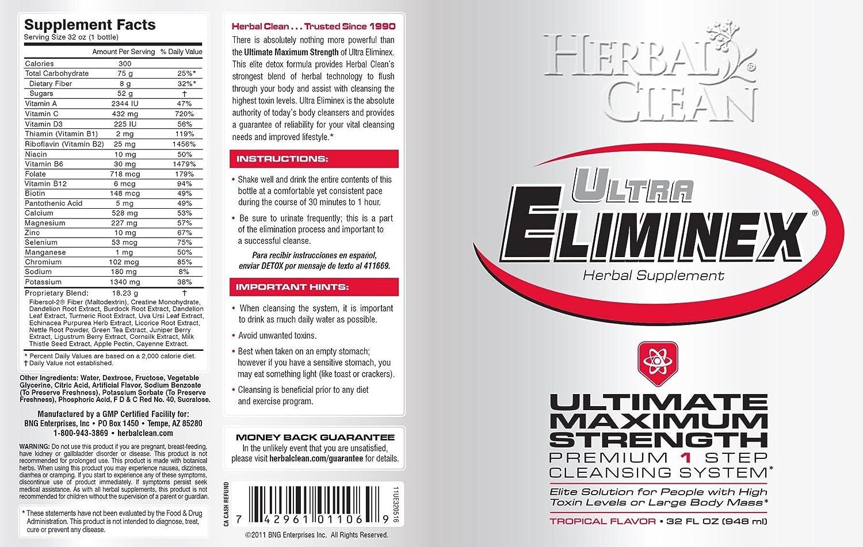 Buy #1 Trusted Ultra Eliminex 32 OZ FREE Q-Pretox Master