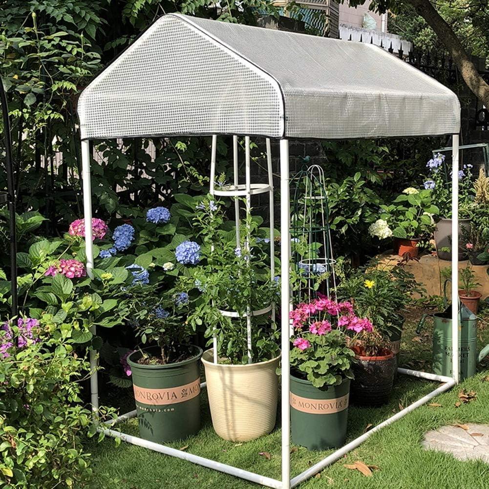 LIANGLIANG- Invernadero de Jardín Casa Sencillo Pequeño Cobertizo ...
