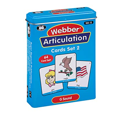 Super Duper Publications | Articulation G Sound Fun Deck | Vocabulary and Language Development Flash Cards | Educational Learning Materials for Children: Toys & Games