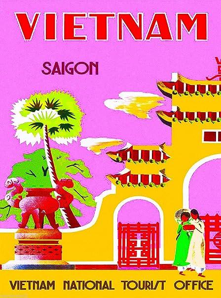 Amazon com: A SLICE IN TIME Vietnam Saigon Asia Asian