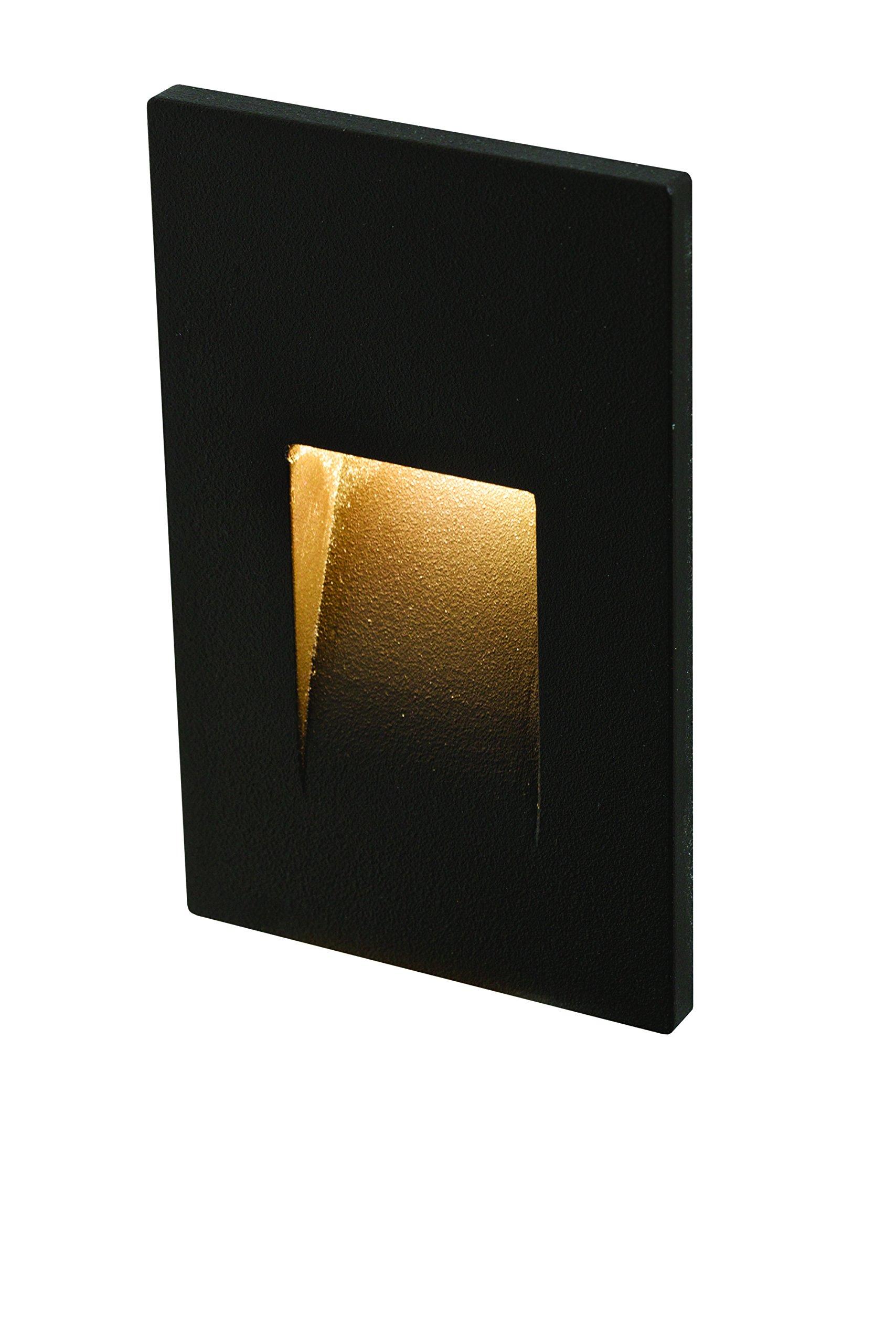 Dals Lighting LEDSTEP002-BK Led Step Light, Black