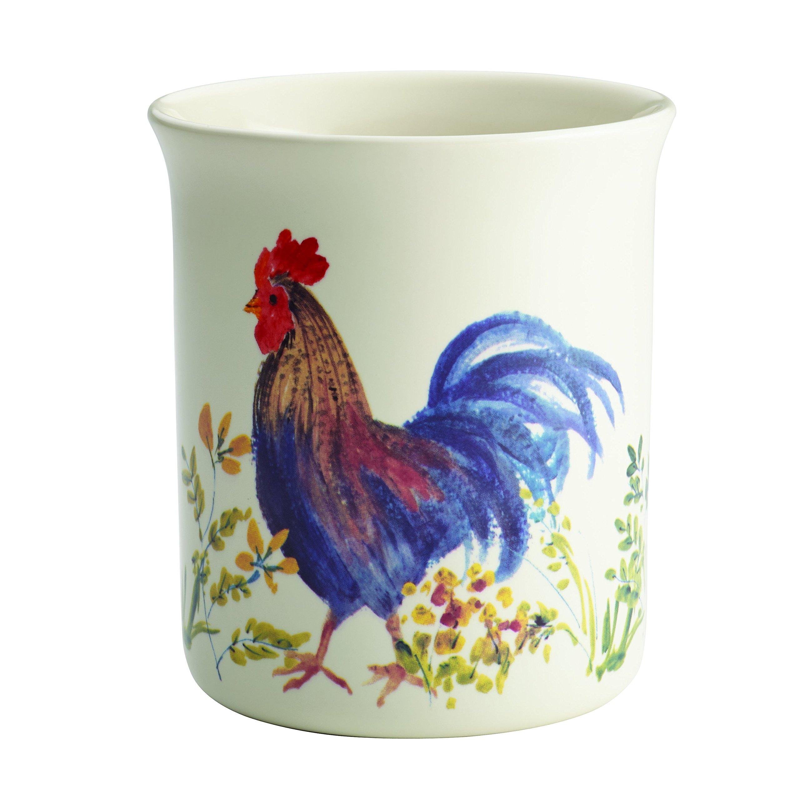 Paula Deen 46256 Tool Crock, Garden Rooster by Paula Deen