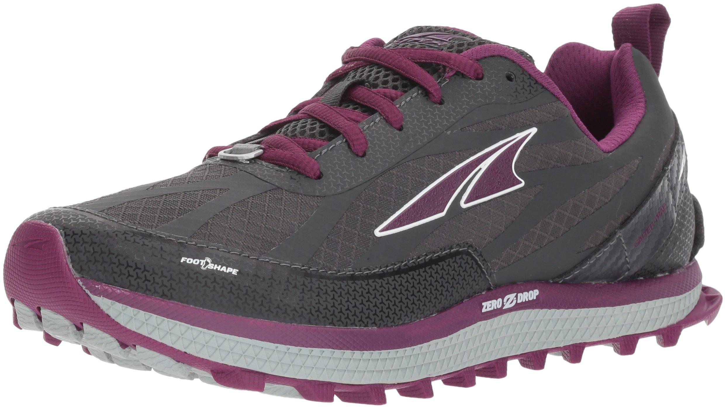 Altra Women's Superior 3.5 Sneaker, Gray/Purple, 7.5 Regular US