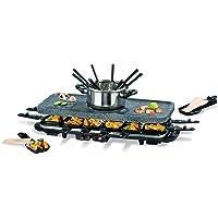 TV Unser Original 05897Gourmet Maxx–Juego de raclette y fondue en granito