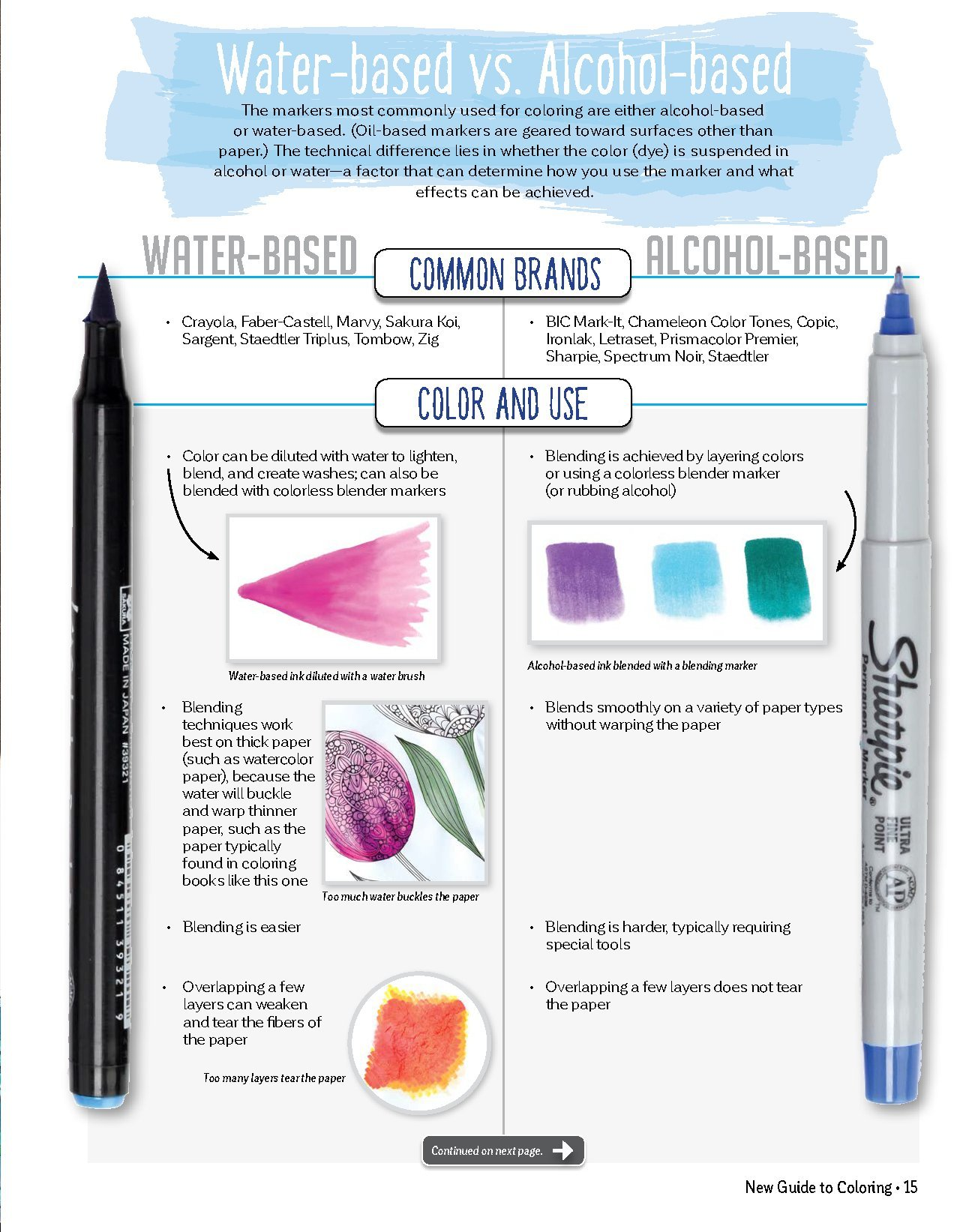 Amazon New Guide To Coloring For Crafts Adult Books And Other Coloristas Tips Tricks Techniques All Skill Levels