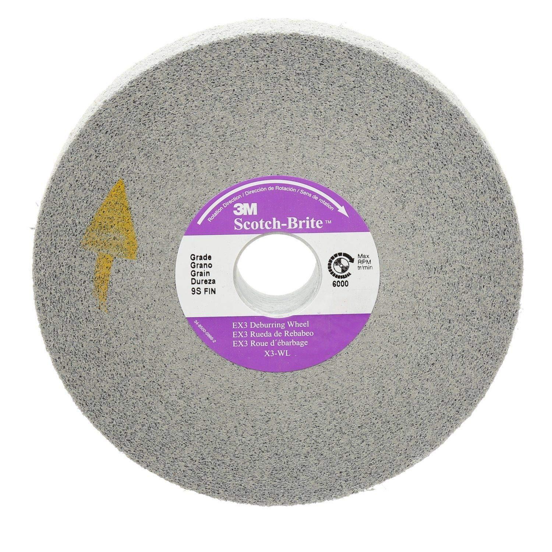 Scotch-Brite(TM) EXL PRO Deburring Wheel, 6 x 1 x 1 by Scotch-Brite