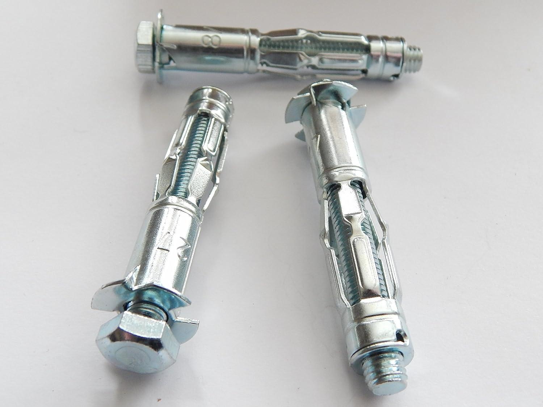 Gipskartond/übel MHD-SM 8x66 10 St/ück Mungo Metall Hohlraumd/übel M8x66 mit Schraube Metallspreizd/übel 32