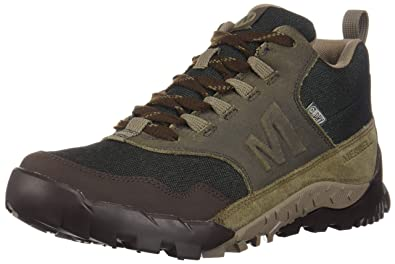 131154ee094 Merrell Men's Annex Recruit Mid Wp Low Rise Hiking Boots