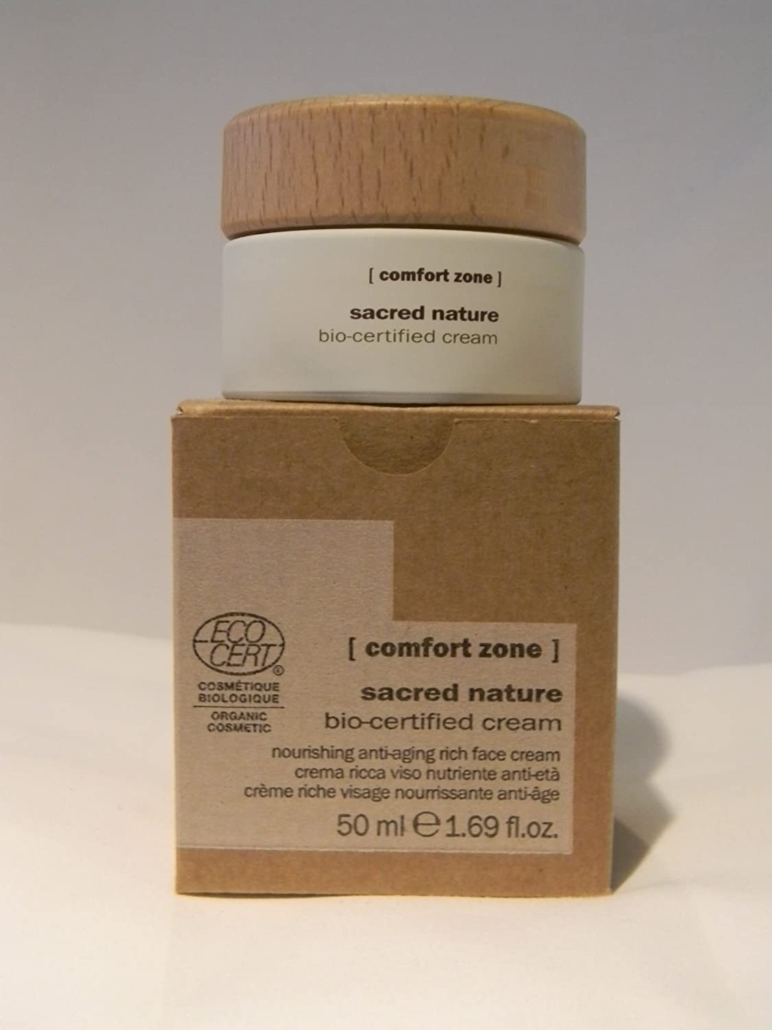 Comfort Zone Sacred Nature Bio-Certified Day Cream 1.7oz