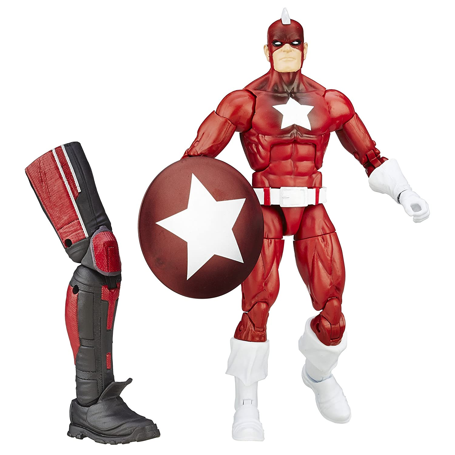 Marvel 6-Inch Legends Series Red Guardian Figure Hasbro B6879AS0
