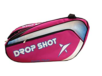 9344f68a6 DROP SHOT Matrix Paletero, Color Fucsia: Amazon.es: Deportes y aire libre