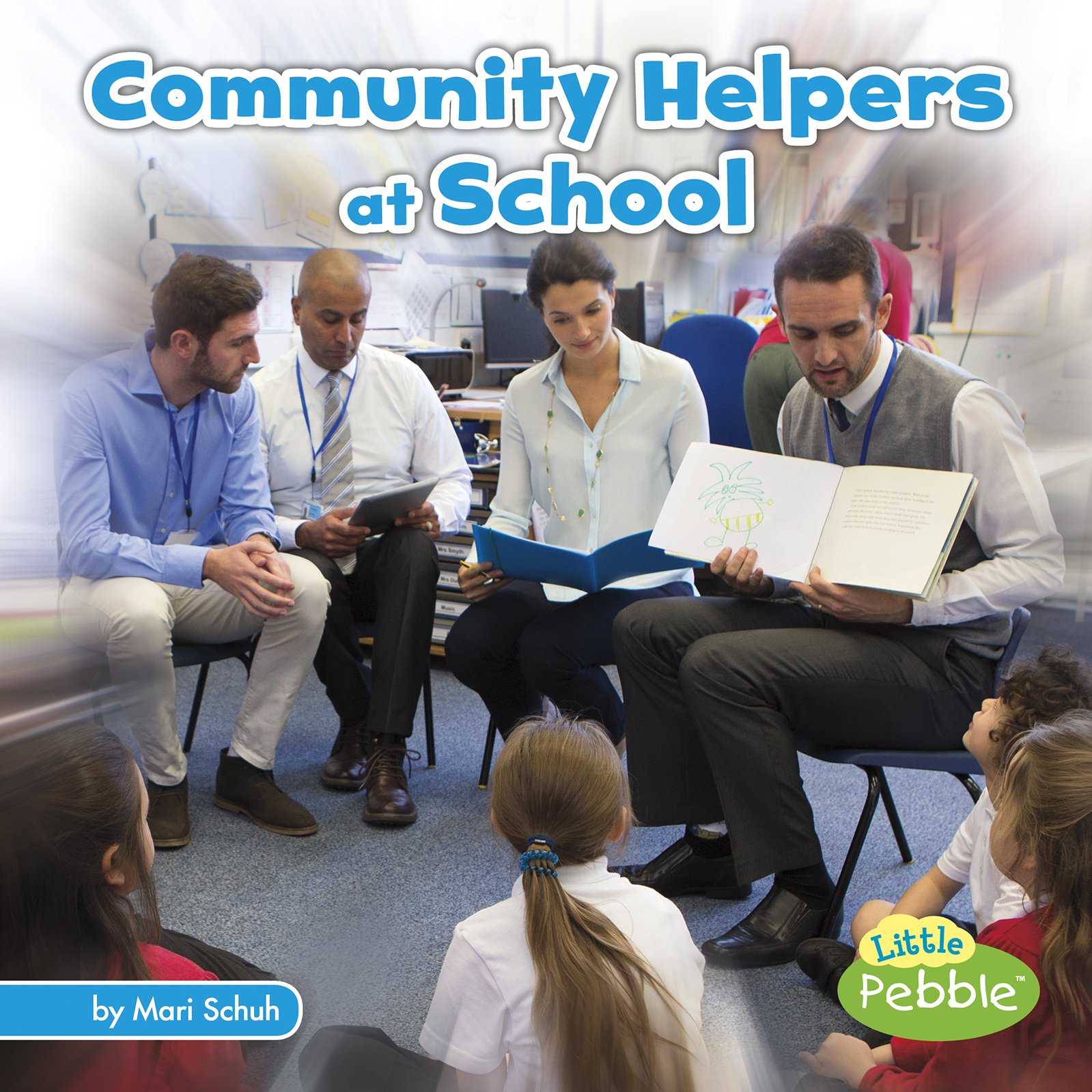 Download Community Helpers at School (Community Helpers on the Scene) PDF