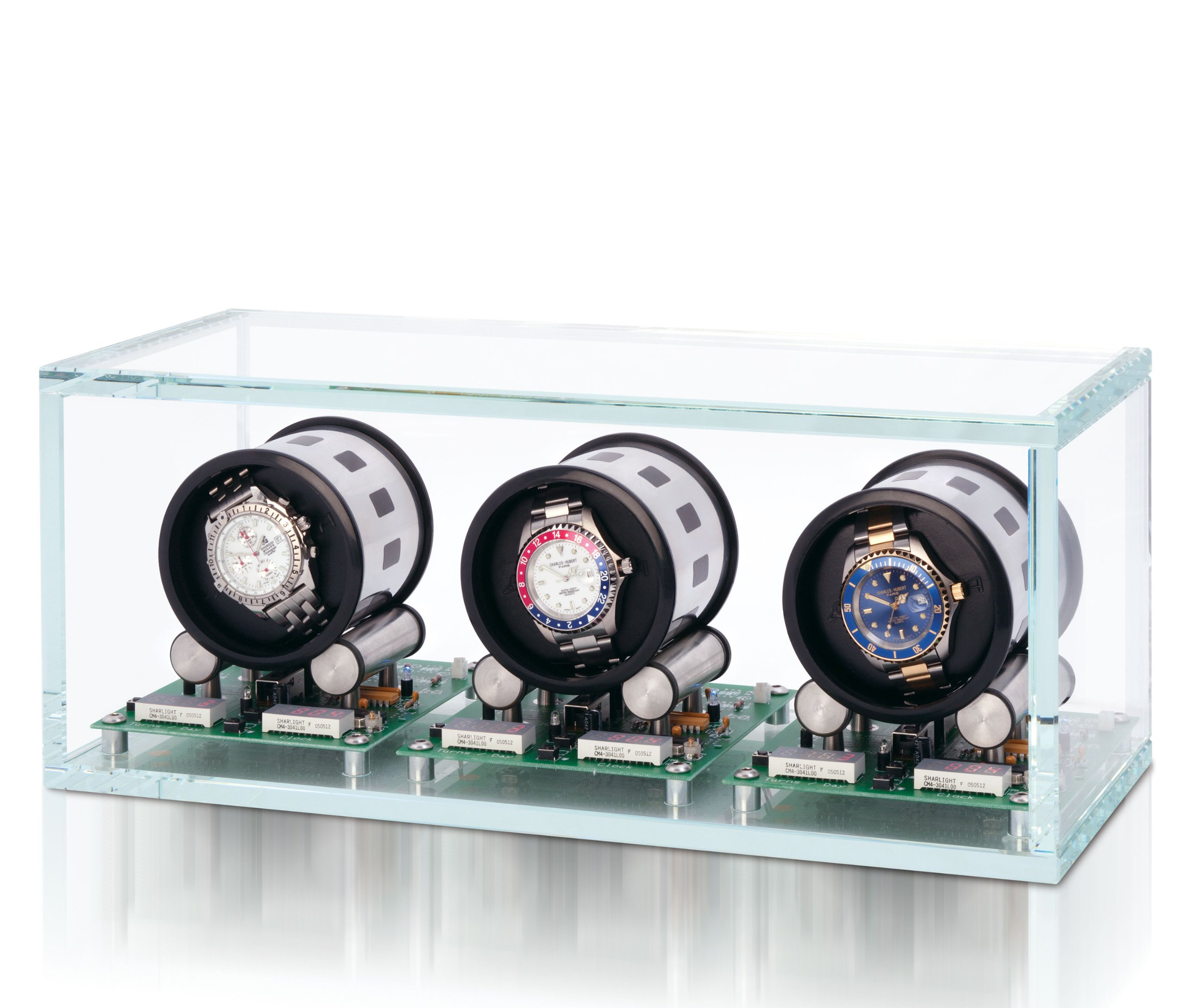 Tourbillon 3 Watch Winder by Orbita Model W35003