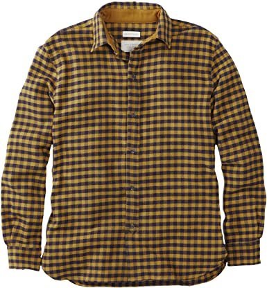 Peregrine - Camisa Casual - para Hombre Amarillo Mostaza XXL ...
