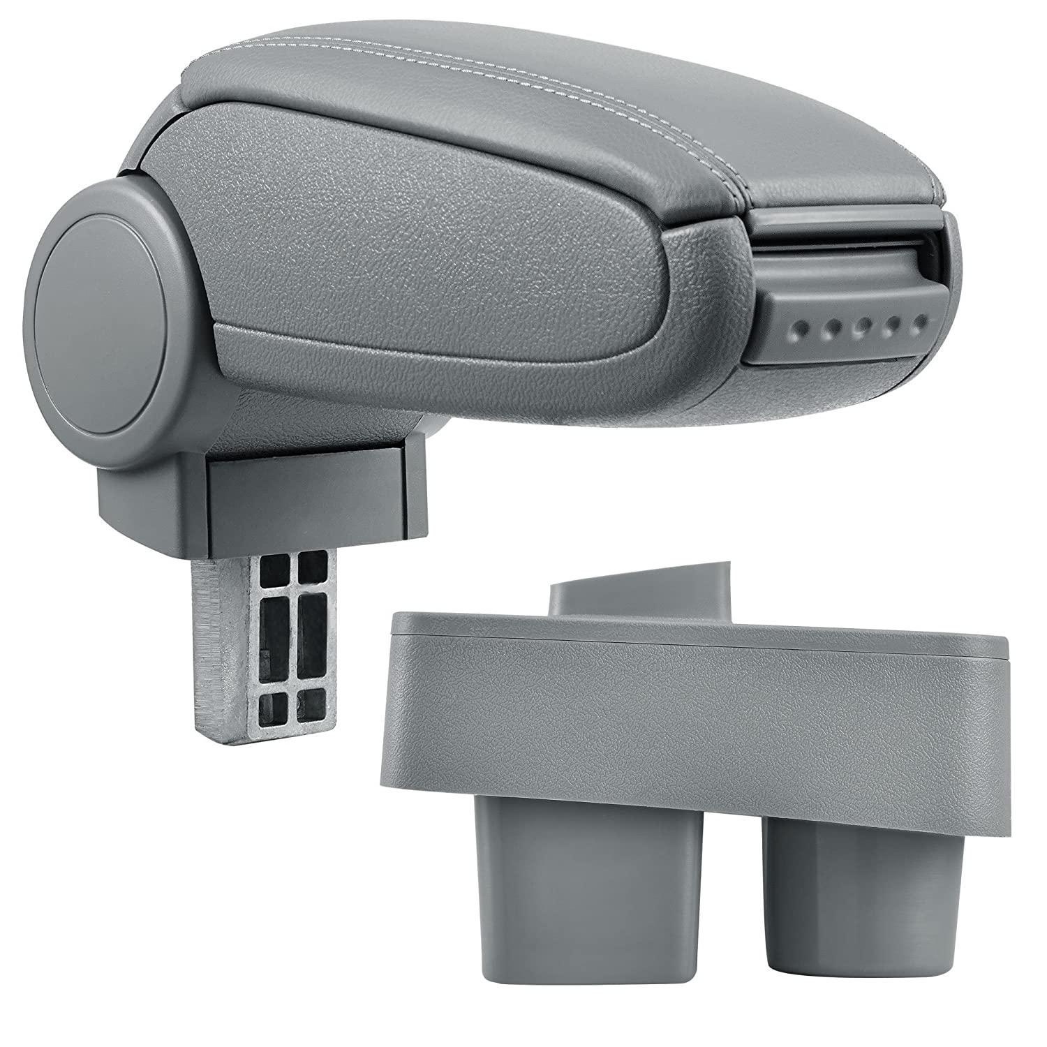 inkl Storage Box Centre Console Armrest Perfekt Fit textil cover // grey pro.tec