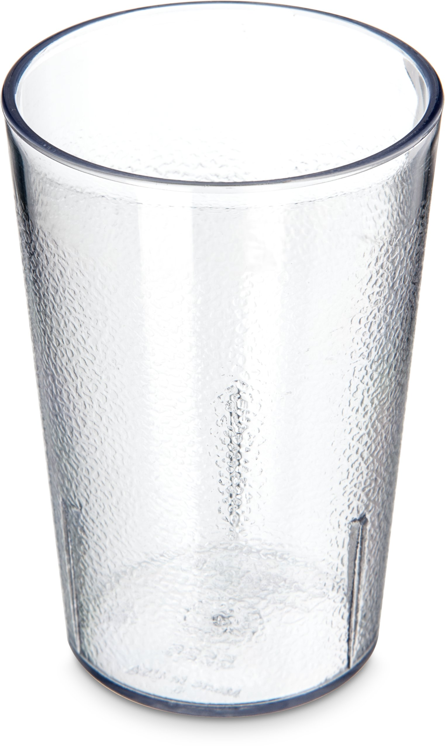 Carlisle 552607 BPA Free Stackable Shatter-Resistant Plastic Tumbler, 8 oz., Clear (Pack of 72) by Carlisle