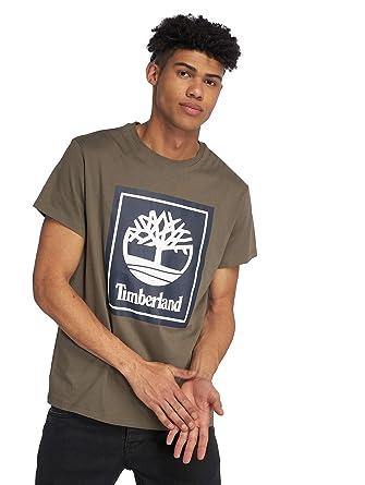 2f5fdb44d8 Timberland Men T-Shirts Ycc Logo: Amazon.co.uk: Clothing