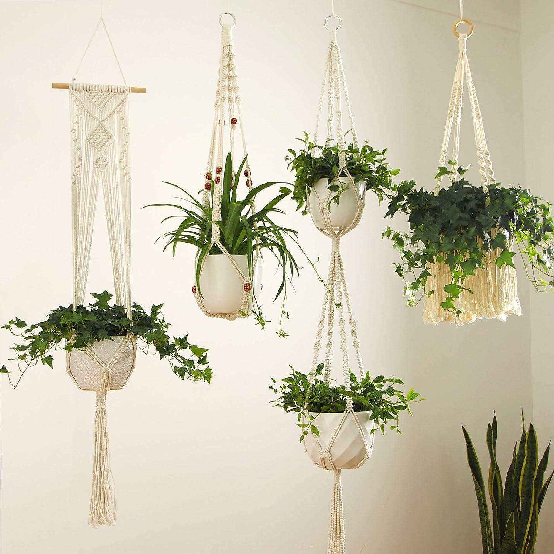 Hanging Planters Patio, Lawn & Garden Modern Boho Bohemian ...