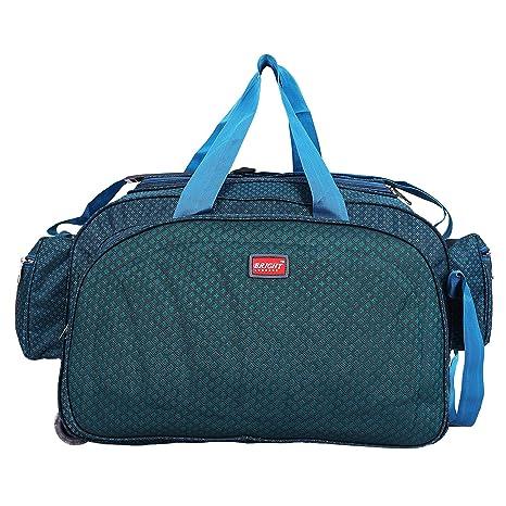 ... Bright Duffle Bag Cheks 40Ltr 2 Wheeler Light Weight Waterproof Luggage  Travel Duffel Bag with Roller  alfisha Lightweight ... 9128866859