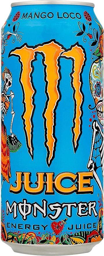 Energético Monster Energy Mango Loco 473ml por Monster