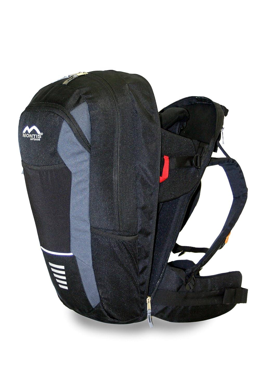 MONTIS WALK - Rückentrage - Kindertrage - Tragerucksack bis max. 15kg