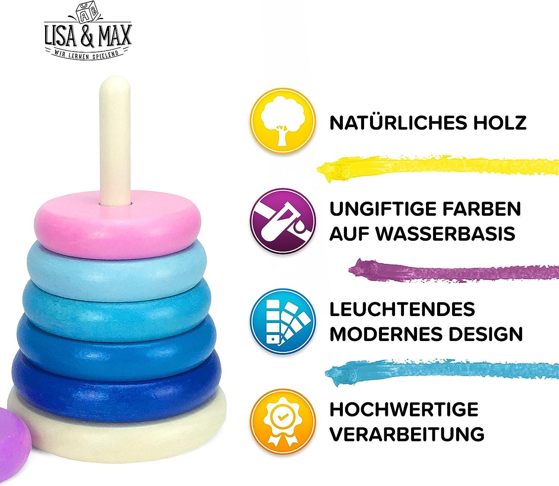 Modernes & Hochwertiges Holzspielzeug für Kinder &