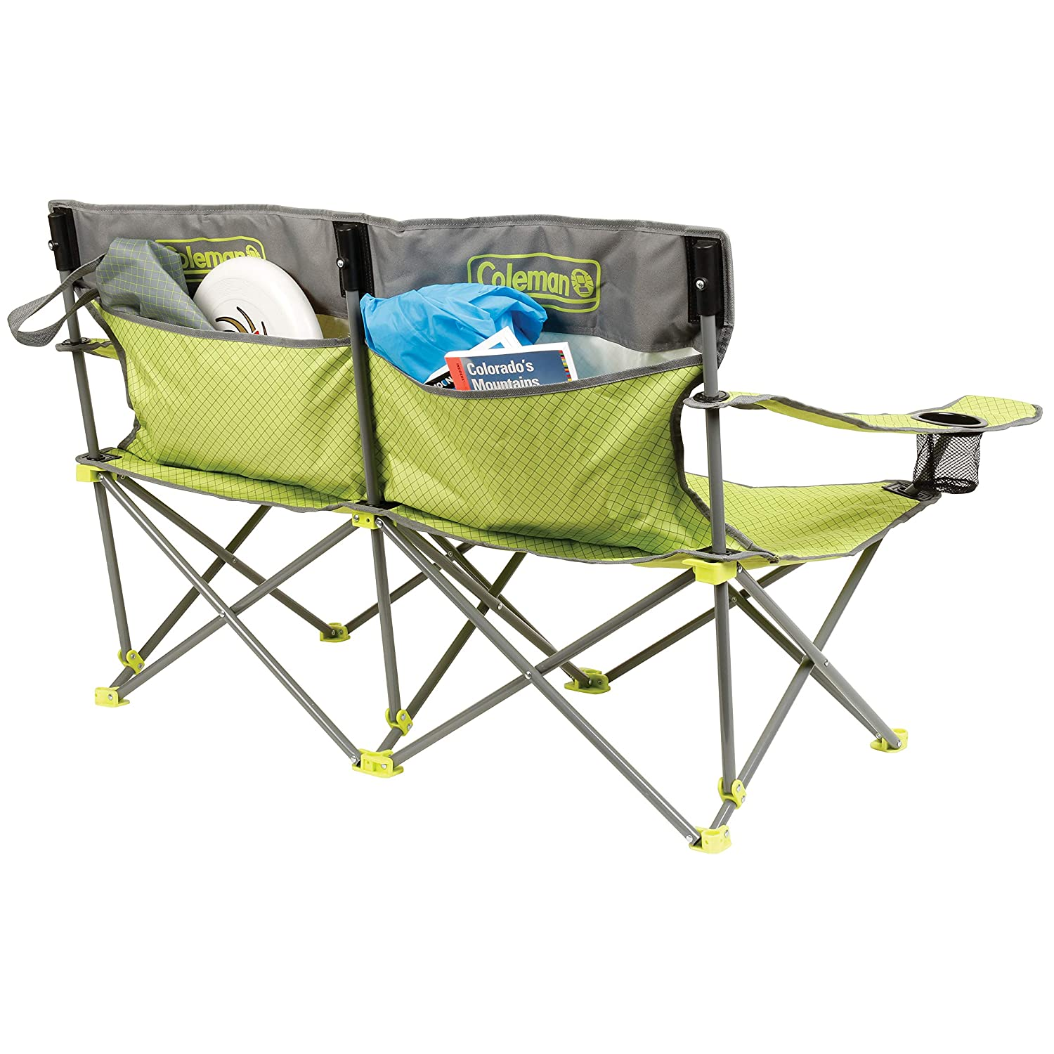 Coleman 2000019354 Quattro Lax Double Quad Chair The Coleman Company Inc.