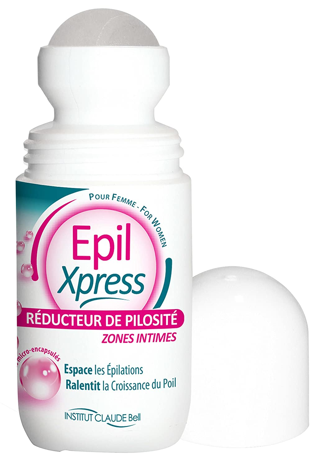 Epil Xpress Roll-On Réducteur de Pilosité pour les Zones Intimes: Amazon.es: Belleza