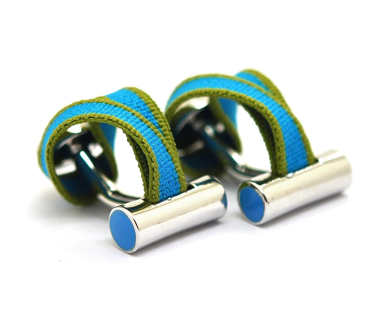 Babette Wasserman Manschettenknöpfe, elastisch, Blau