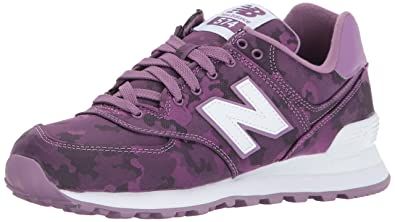 reputable site 1afbe 5a945 New Balance Women's 574 Camo Pack Lifestyle Fashion Sneaker