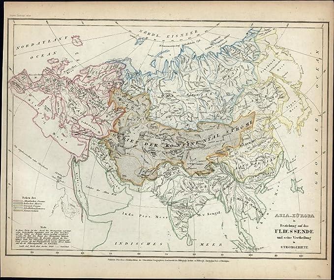 Amazon Com Eastern Hemisphere Europe Asia Middle East 1850