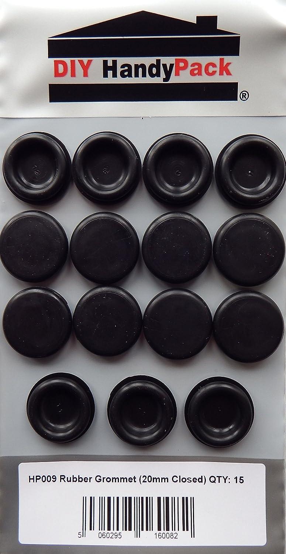 DIY HandyPack - Rubber Grommet 20mm Closed Blind (Pack 15) DIY Trade Supplies