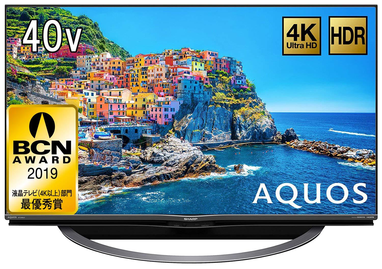 SHARP 液晶 テレビ AQUOS 4T-C40AJ1 4K