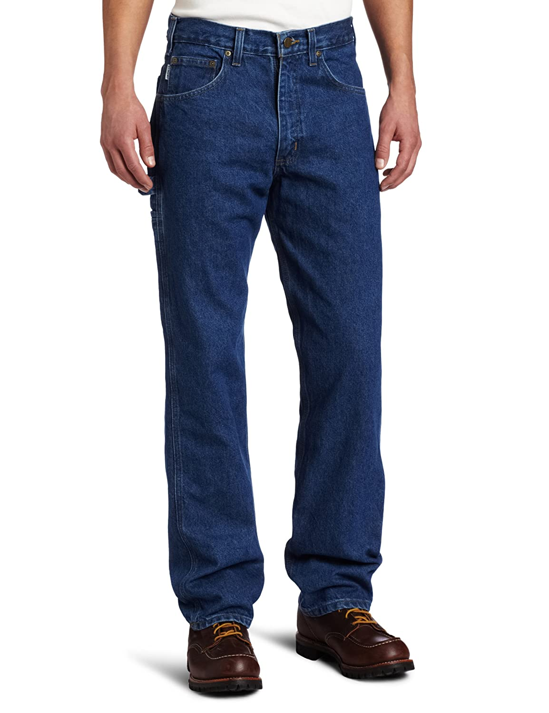 Carhartt Men's Relaxed Fit Denim Carpenter Jean Carhartt Sportswear - Mens B171