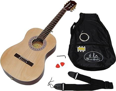 ts-ideen - Guitarra clásica infantil (3/4, acústica, para niños de ...