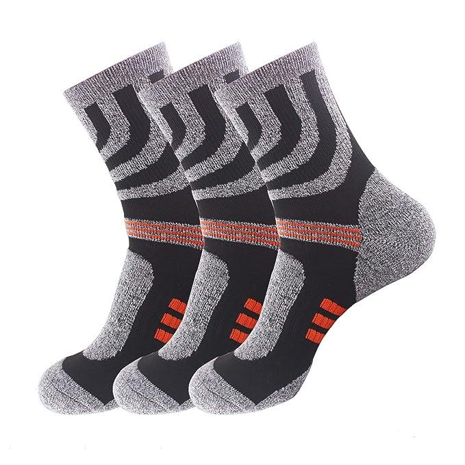 SOFIT Calcetines para Hombre y Mujeres (3 Pares) Suaves y Cómodos, Transpirables,