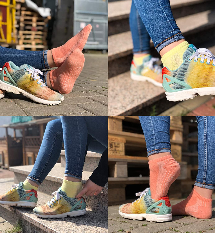 STARK SOUL Sport /& Lifestyle Sneaker Socken in Premium Qualit/ät Gr/össen 35-50 Unisex f/ür Damen /& Herren 6 Paar