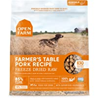 Open Farm Freeze Dried Raw Dog Food, Humanely Raised Meat Recipe with Non-GMO Superfoods and No Artificial Flavors or…