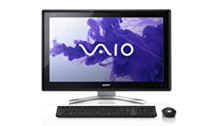 Sony L Series VPCL232FX/B 24-Inch TouchScreen Desktop (Black) (Discontinued by Manufacturer)