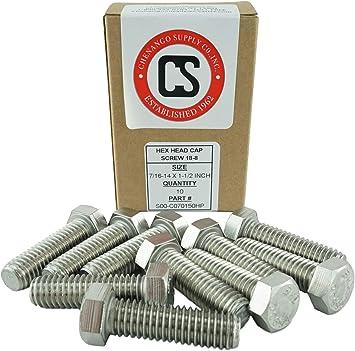 "Pack of 50 7//16/"" ID High Strength Split-Lock Washers"