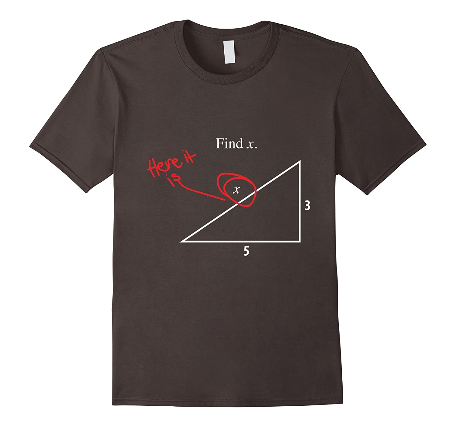 Find the X Funny Maths T-Shirt-RT – Rateeshirt