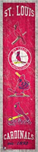 Fan Creations MLB St. Louis Cardinals Unisex St. Louis Cardinals Heritage Banner, Team, One Size