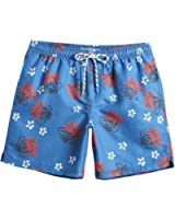 MaaMgic Mens Quick Dry Funny Pattern Swim Trunks With Mesh Lining Swimwear Bathing Suits